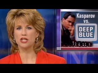 Максим Омариев - Каспаров в ШОКЕ от игры компьютера! 3 партия матча Каспаров - Deep Blue, 1996 год. Шахматы
