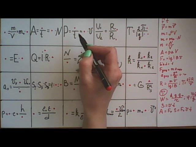 Тренажер формул, аркуш - 2.