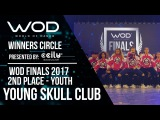 Young Skull Club  2nd Place Upper  Winner's Circle  World of Dance Finals 2017  #WODFINALS17