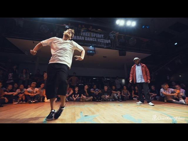 Free Spirit Festival 2017 MUSICOLOGY Dalil vs Robozee Funk - Final