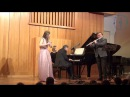 Irina Stachinskaya Ilja Dvoretskiy flutes Phillip Moll p-no 3 duets by F.Mendellson/T.Boehm-Lachner