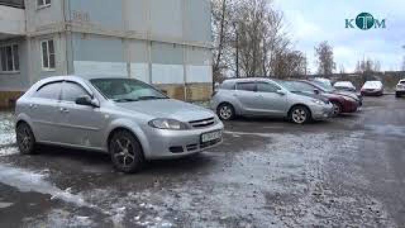 Благоустройство парковок в г.п. Калининец