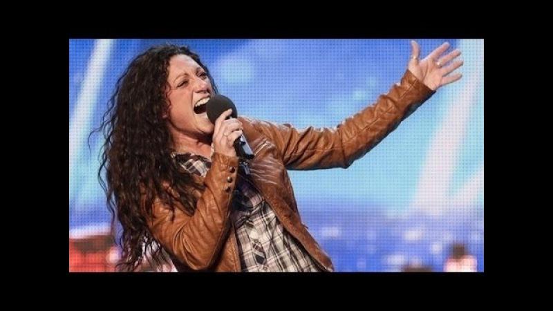 Britain's Got Talent S08E04 Eva Inglesias sings Aretha Franklin's