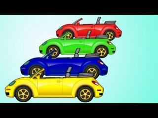 COMPILATION: Maria et Poma poma. Dessin animé éducatif avec voitures voitures