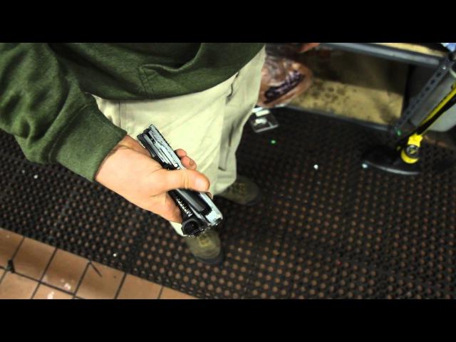 One Handed Glock Field Strip