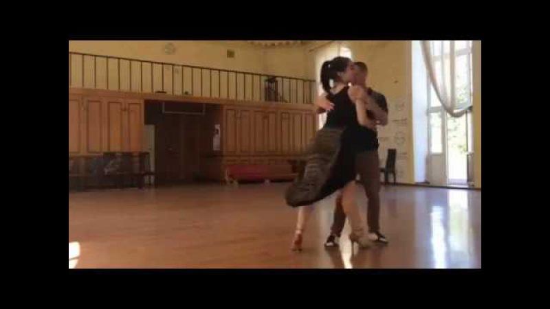 Andriy Gerega Alexandra Momot. Training. Music - Anna Tatangelo - Lo So Che Finirà