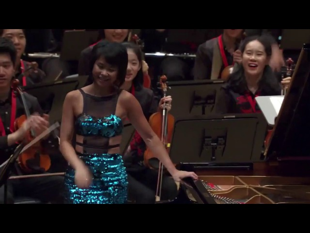 Yuja Wang - Carmen Variations Encore after Tchaikovsky Piano Concerto 1 (2017)