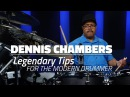 Dennis Chambers Legendary Tips For Modern Drummers FULL DRUM LESSON Drumeo