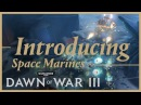 Prophecy of War - Introducing the Space Marines