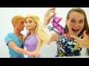 Видео для девочек. Барби БЕРЕМЕННА!💥 Как сказать Кену! Игры с Барби на канале М...