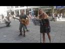 Straßenmusik in Wien (Serbisches Volkslied auf der Querflöte) лепа српска народна песма