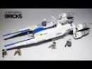 Lego Star Wars 75155 Rebel U Wing Fighter Speed Build
