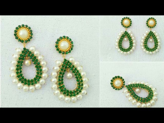 How To Make Designer Earrings How To Make Paper Earrings Paper Jewellery Making DIY