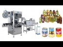 Automatic shrink sleeve labeling machine manufacturer price