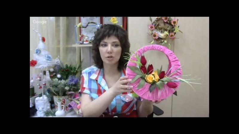 Открытое занятие мега-курса Геометрия в букетах свит-дизайн. Мастер Наталья Дроздова.