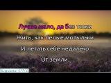 Меладзе Валерий   Самба Белого Мотылька     Караоке версия Full HD
