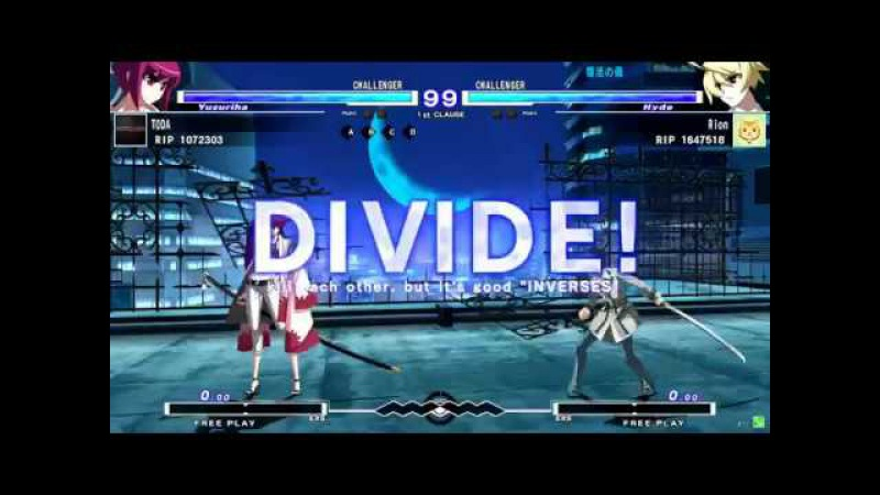 5/21 Under Night In-Birth Exe:Late[st]- OVER THE WORLD -continuation-