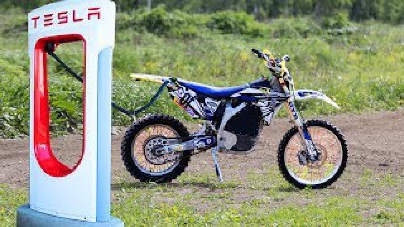 Электро мотоцикл Yamaha – ДВС остался в прошлом