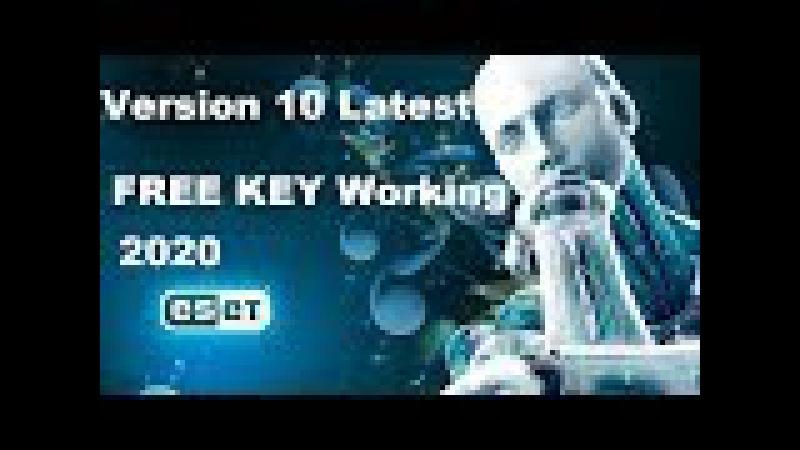 ESET NOD32 Antivirus 10 License Key 2020 WORKING 100% [Update 10/2017] » Freewka.com - Смотреть онлайн в хорощем качестве