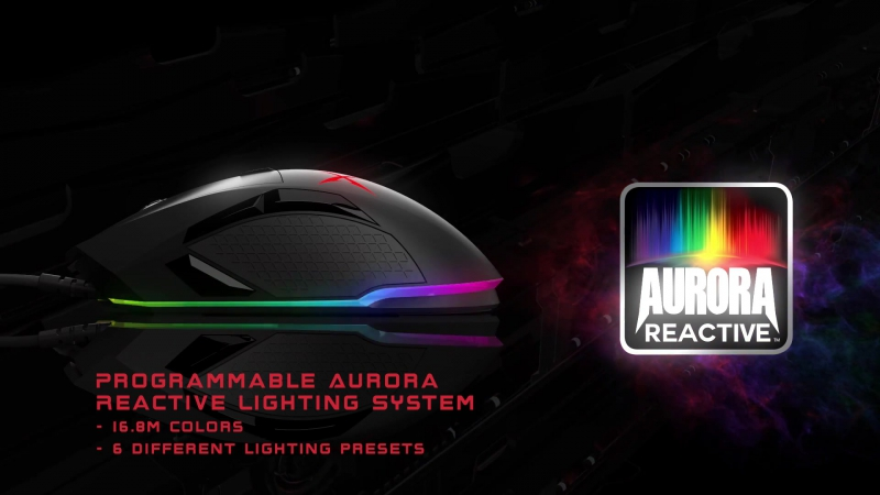 Sound BlasterX Siege M04 Precision Gaming Mouse
