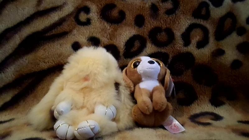 Обзор на Кролика из натурального меха и мягкую игрушку собачка » Freewka.com - Смотреть онлайн в хорощем качестве