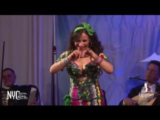 Baladi, Nada El Masriya Showcases one of her talented dancers (Oksana) 8989