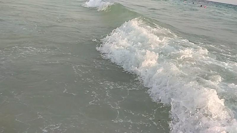 Сегодня были большие волны 20.09.2017