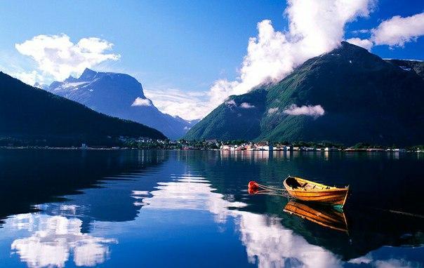 Роскошные пейзажи Норвегии Ypk1Z_TRtXY
