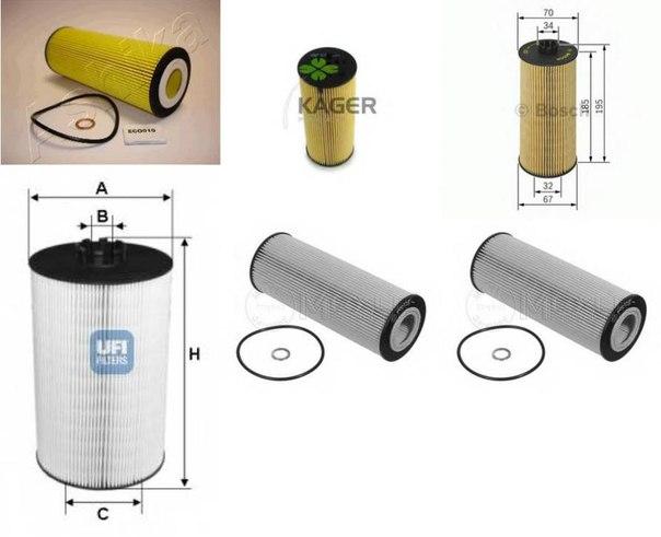 Масляный фильтр для AUDI ALLROAD (4BH, C5)