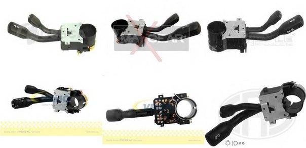Выключатель на колонке рулевого управления для AUDI CABRIOLET (8G7, B4)