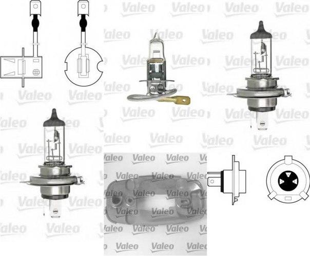 Лампа накаливания, фара дальнего света; Лампа накаливания, основная фара; Лампа накаливания, противотуманная фара для AUDI COUPE (89, 8B)