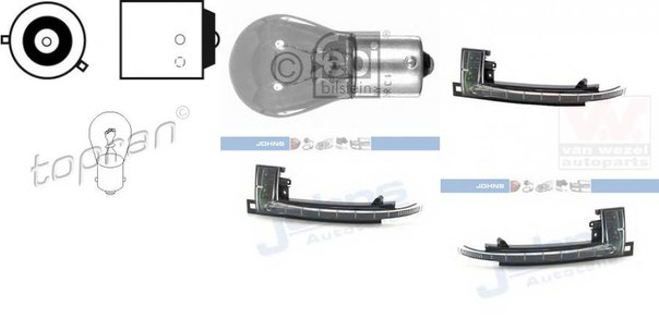 Фонарь указателя поворота для AUDI Q3 (8U)