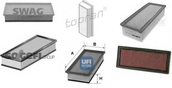 Воздушный фильтр для AUDI Q5 (8R)