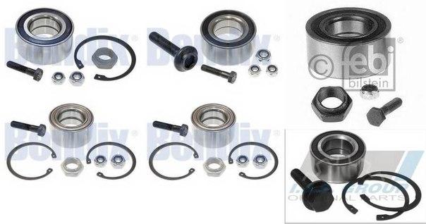 Комплект подшипника ступицы колеса для AUDI QUATTRO (85)