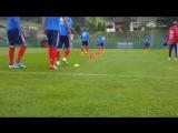 Тренировка сборной России в Нойштифте