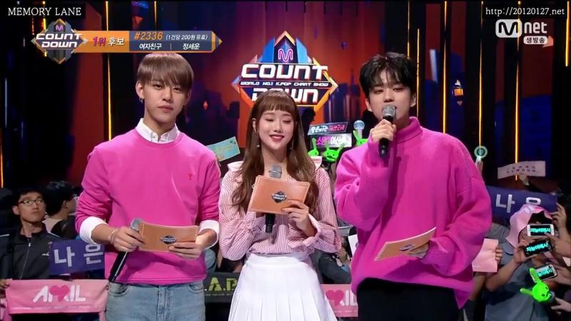 [21.09.17] M COUNTDOWN - B.A.P Daehyun Youngjae MC cut (1)