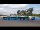 Не для слабонерных! Водители автобусов из СВАО победили на конкурсе Мосгортранса