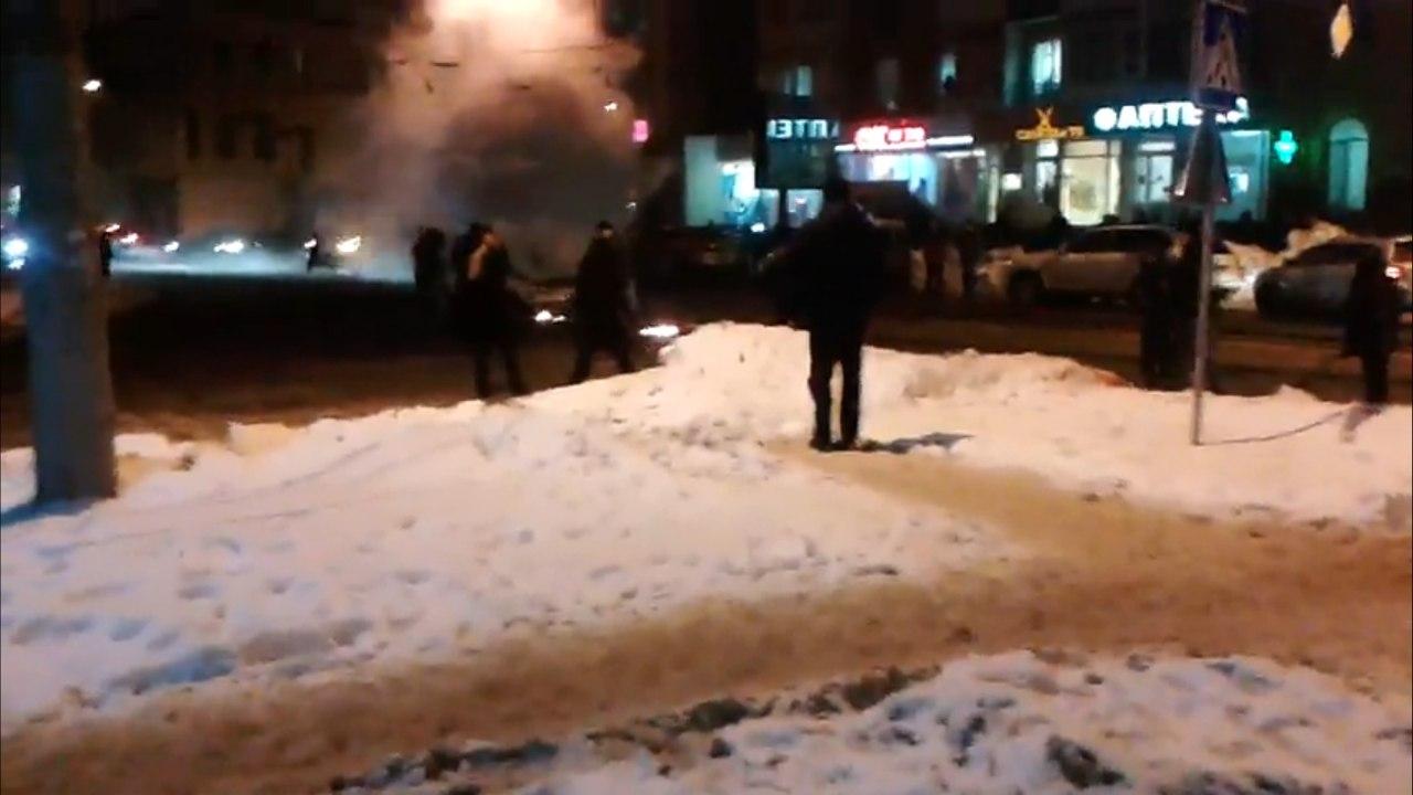 В Харькове снова горела машина