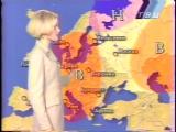 staroetv.su / Прогноз погоды (ТВЦ, октябрь 1999)