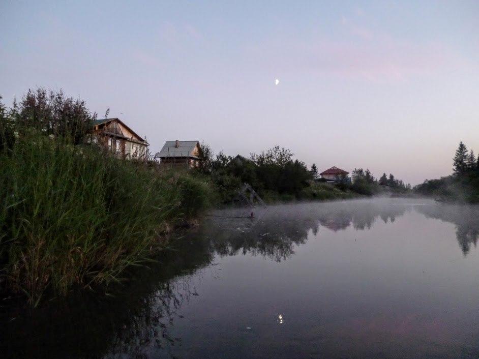 Поселок Зюраткуль. Речка Малая Сатка