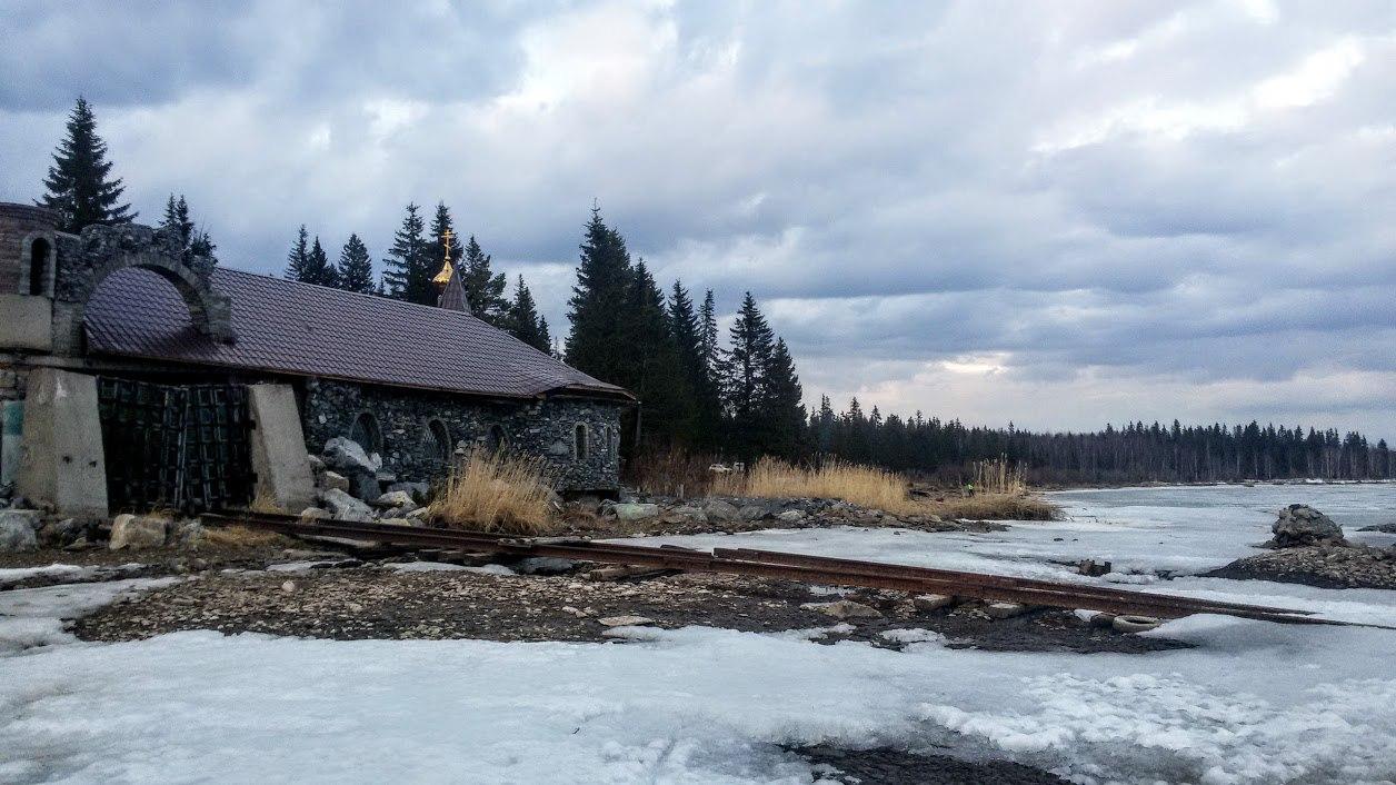 Китова пристань, 2017. Поселок Зюраткуль. Все, что осталось