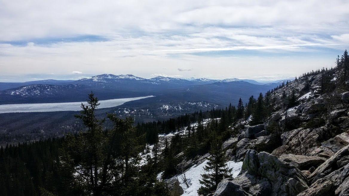 Экотропа Зюраткуль. Подъем на вершину в конце апреля - начале мая