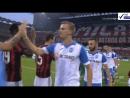 Лига Европы Милан Университатя 1 тайм