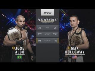 UFC 212 Жозе Альдо vs Макс Холлоуэй обзор боя