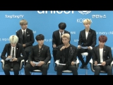 `PRESS` 171101 UNICEF x BTS press conference for UNICEF global campaign project.