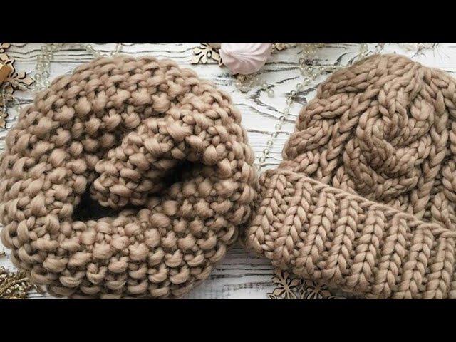 Шапочка из толстой пряжи шапочка из перуанской шерсти