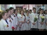 Открытие мемориальной доски, посвящённой участнику ВОВ З. Самсоновой 15 06 17