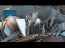 Komptech Crambo shredding waste wood