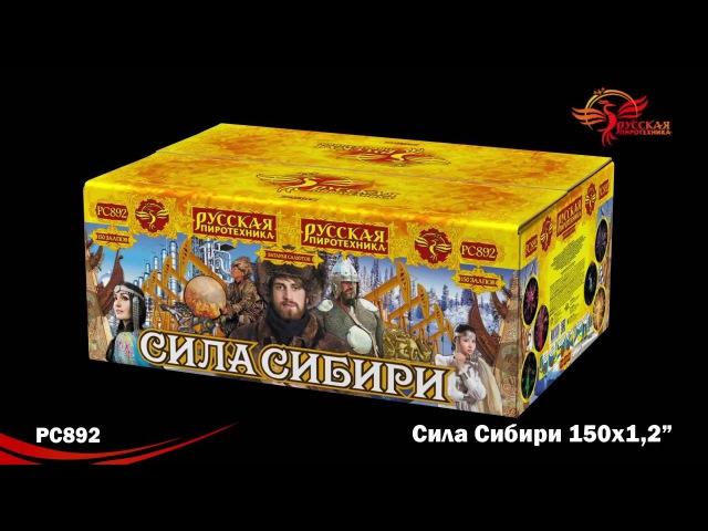 Супер салют Сила Сибири РС892