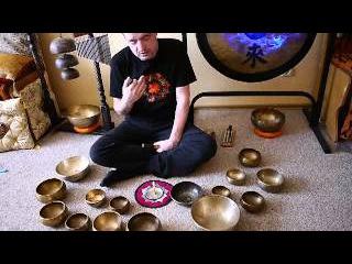 Звукотерапия. Медитация. Поющие тибетские чаши рейки. Поющие чаши